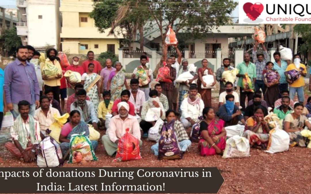Impacts of donations During Coronavirus in India: Latest Information!